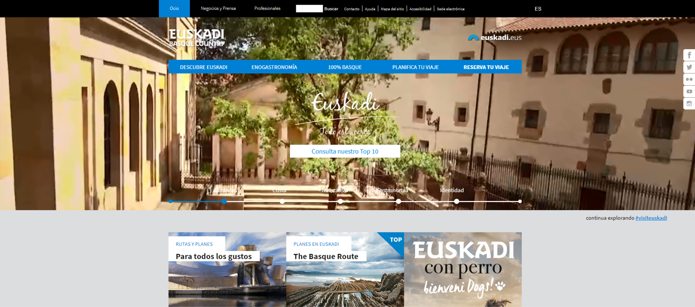 Euskadi Tourism - Basque Country Tourism