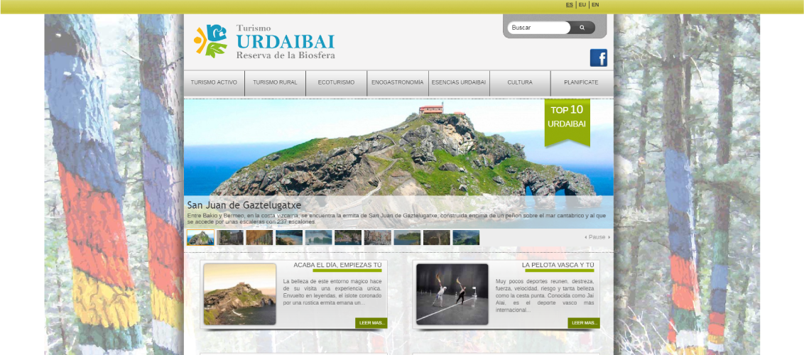 Urdaibai tourism in a luxury house